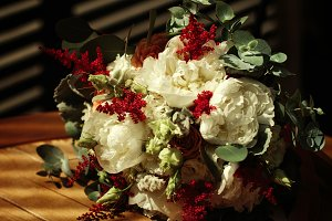 Wedding rustic flowers