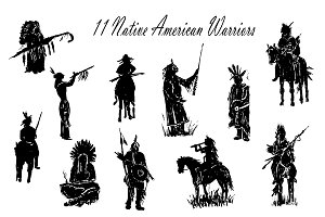 11 Native American Warriors