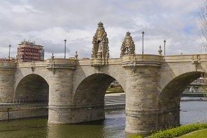 Bridge Toledo Madrid Rio