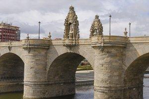 Bridge of Toledo river Manzanares