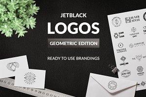 30 Premade Logos – Geometric Edition