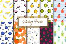 Juicy Pop Art Fruits