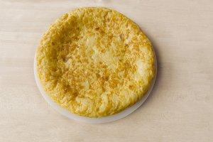 Omelette spanish style