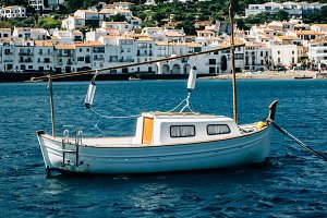 Small boat in Cadaques