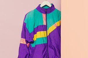 Vintage Jacket. Minimal fashion.
