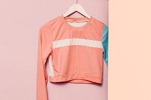 sportswear. Minimal fashion.