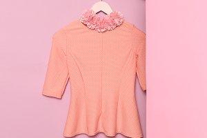 clothes. Minimal fashion. Romantic