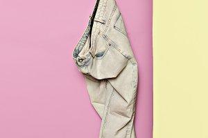 Jeans Denim. Minimal