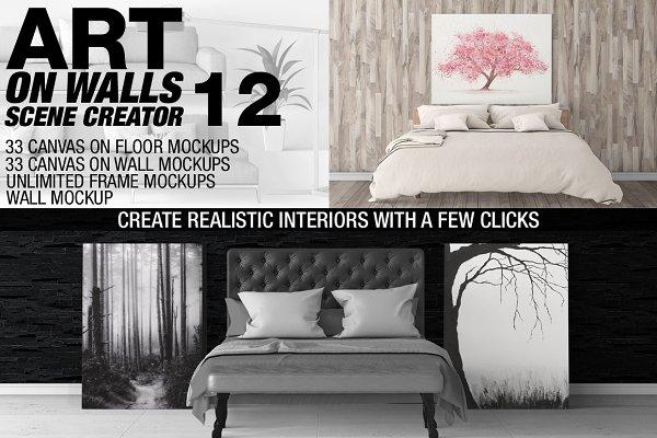 Canvas Mockups - Frames Mockups v 1…