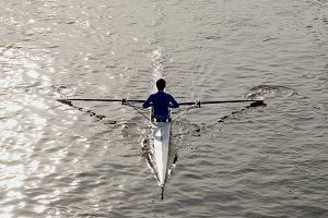 Rower backside