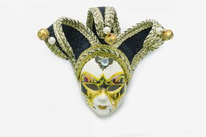 decorative venetian mask, Venezia