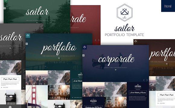 Sailor Creative Portfolio