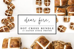 Hot Cross Bundle 11 Easter Flat Lays