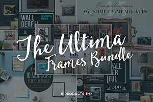 The Ultima Frames Bundle - 5 in 1