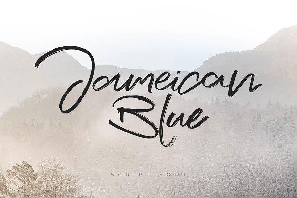 Jameican Blue Font
