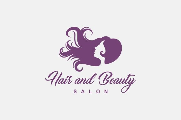 hair beauty logo logo templates creative market