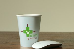 Weed Medi Care Logo Template