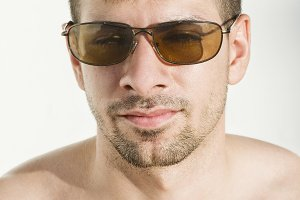 Sunglasses latin man