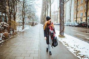 Cozy winter lifestyle