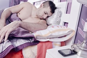 Sleeping near to phone