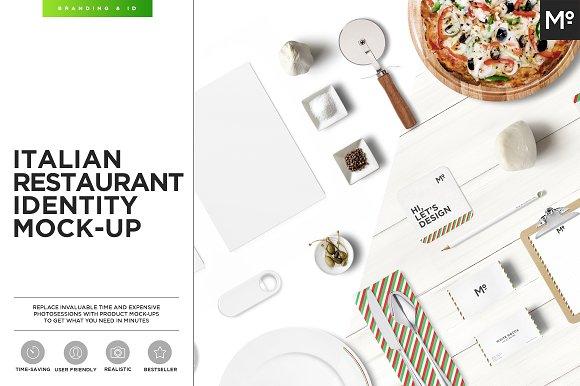 Free Italian Restaurant Identity Mock-up
