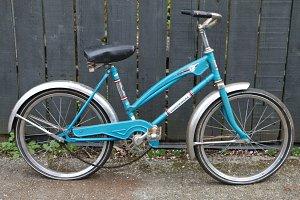 Retro chopper Bike.