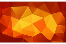 Triangle background. Polygons