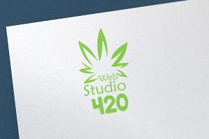 Web Studio 420 Logo Template