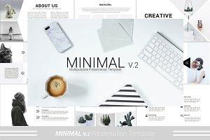 Minimal V.2 Keynote Template