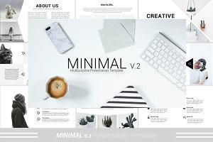 Minimal v.2 Powerpoint Template