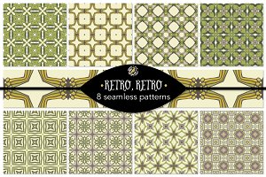 Set 56 - 8 Seamless Patterns