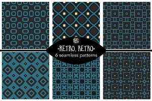 Set 57 - 6 Seamless Patterns