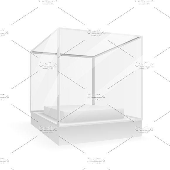 Isometric Isolated Box