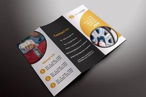 Rent a Car Trifold Brochures - V009