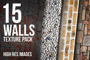15 Walls texture pack - high res