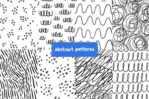 Scribble patterns