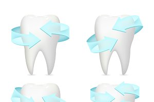 Tooth arrow protection