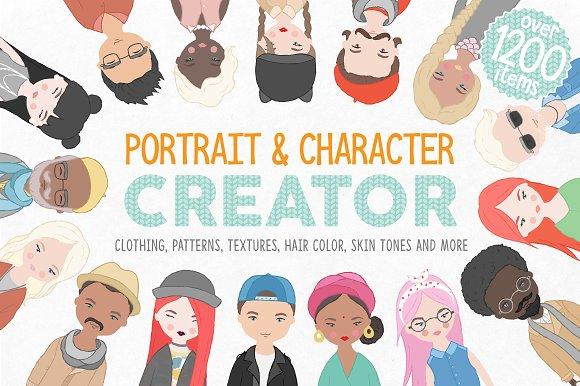 Portrait & Character Creator