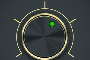 Circular Metal Controller