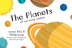 Solar System Illustrations
