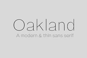 Oakland Sans Serif
