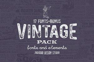 Vintage Pack-Promo 60% off