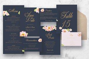 Pink Floral Wedding Suite