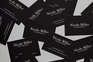 NICOLE-Business Card Template