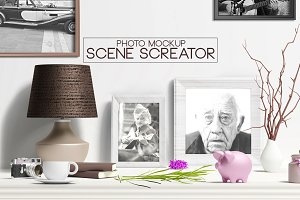 Photo Mockup Scene Creator