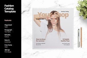 Fashion Catalog Template