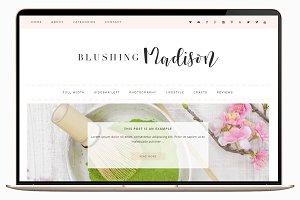 Blushing - Wordpress Theme