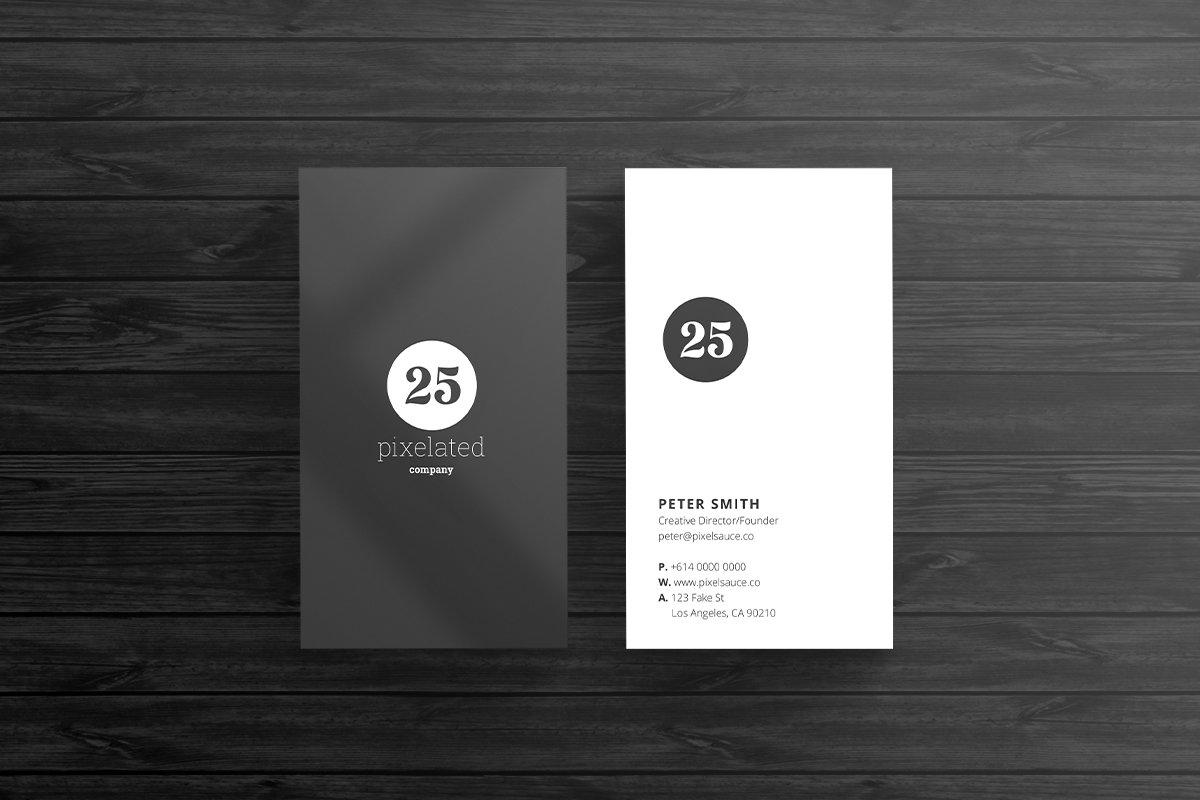 Minimal Business Card Template ~ Business Card Templates ~ Creative ...