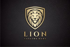 Lion Shield Logo