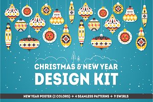 Christmas & New Year Design kit